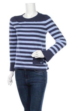 Γυναικείο πουλόβερ Edc By Esprit, Μέγεθος XS, Χρώμα Μπλέ, 40% βαμβάκι, 30%ακρυλικό, 25% πολυαμίδη, 5% μαλλί, Τιμή 8,77€