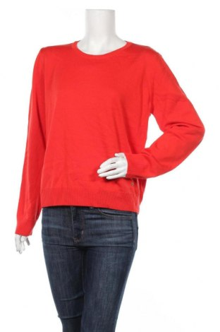 Γυναικείο πουλόβερ Escada, Μέγεθος L, Χρώμα Κόκκινο, Μαλλί, Τιμή 50,60€