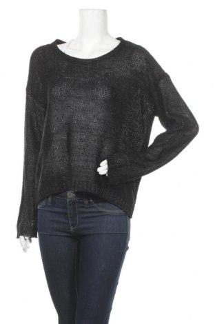 Γυναικείο πουλόβερ George, Μέγεθος L, Χρώμα Μαύρο, 65% πολυεστέρας, 35%ακρυλικό, Τιμή 7,60€
