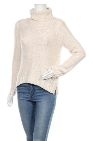 Γυναικείο πουλόβερ H&M, Μέγεθος S, Χρώμα  Μπέζ, 95%ακρυλικό, 5% μαλλί, Τιμή 10,13€