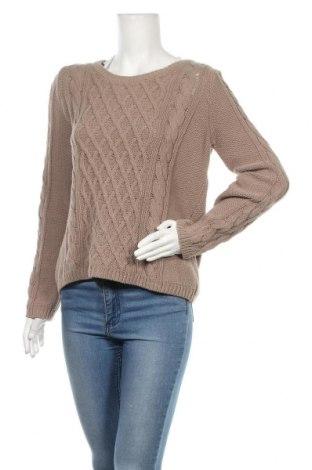 Γυναικείο πουλόβερ H&M, Μέγεθος M, Χρώμα Καφέ, 60% βαμβάκι, 40%ακρυλικό, Τιμή 16,70€