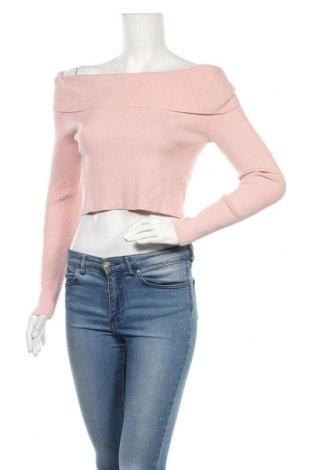 Γυναικείο πουλόβερ H&M Divided, Μέγεθος M, Χρώμα Ρόζ , 44% βισκόζη, 37%ακρυλικό, 19% πολυαμίδη, Τιμή 14,85€
