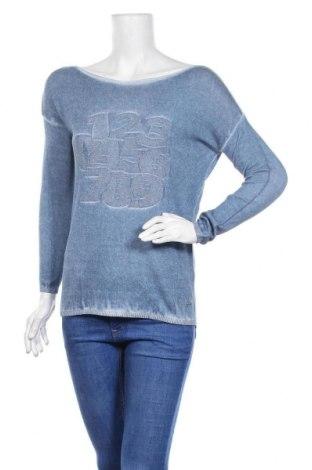 Дамски пуловер Jones, Размер XS, Цвят Син, Вискоза, Цена 19,04лв.