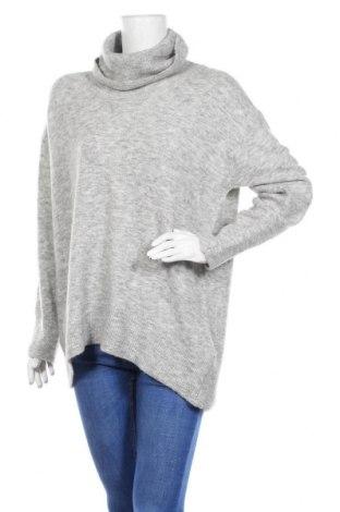 Γυναικείο πουλόβερ Massimo Dutti, Μέγεθος M, Χρώμα Γκρί, 41% μαλλί, 38% πολυαμίδη, 18%ακρυλικό, 3% ελαστάνη, Τιμή 17,18€