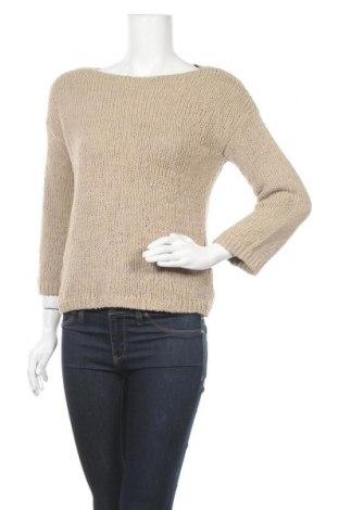 Γυναικείο πουλόβερ Massimo Dutti, Μέγεθος S, Χρώμα  Μπέζ, Βαμβάκι, Τιμή 42,14€