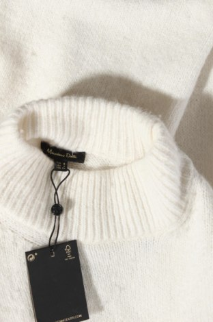 Γυναικείο πουλόβερ Massimo Dutti, Μέγεθος S, Χρώμα Εκρού, 37% πολυαμίδη, 26% μαλλί, 22% βισκόζη, 11%ακρυλικό, 3% κασμίρι, Τιμή 14,84€