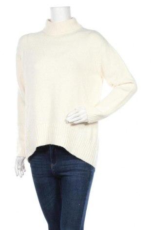 Γυναικείο πουλόβερ Massimo Dutti, Μέγεθος M, Χρώμα Εκρού, 37% πολυαμίδη, 26% μαλλί, 22% βισκόζη, 11%ακρυλικό, 3% κασμίρι, Τιμή 14,84€