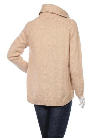 Γυναικείο πουλόβερ Massimo Dutti, Μέγεθος M, Χρώμα  Μπέζ, 49% μαλλί, 28% βισκόζη, 18% πολυαμίδη, 5% κασμίρι, Τιμή 37,11€