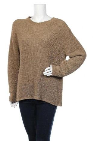 Γυναικείο πουλόβερ Massimo Dutti, Μέγεθος L, Χρώμα Καφέ, 20%ακρυλικό, 42% βαμβάκι, 38% πολυεστέρας, Τιμή 46,01€