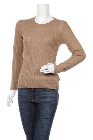 Γυναικείο πουλόβερ Massimo Dutti, Μέγεθος S, Χρώμα Καφέ, Λινό, Τιμή 27,21€