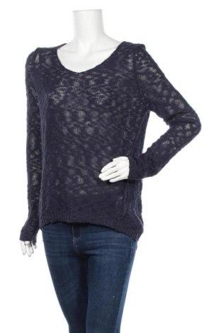 Γυναικείο πουλόβερ S.Oliver, Μέγεθος L, Χρώμα Μπλέ, 60% βαμβάκι, 40% πολυακρυλικό, Τιμή 14,94€