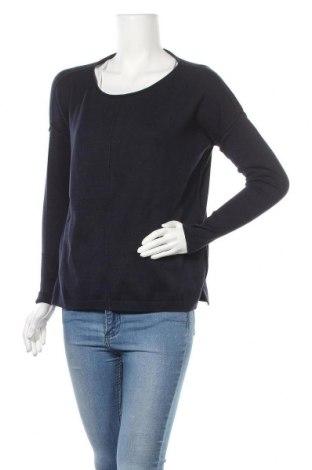 Γυναικείο πουλόβερ Tom Tailor, Μέγεθος S, Χρώμα Μπλέ, 60% βαμβάκι, 40% βισκόζη, Τιμή 19,79€