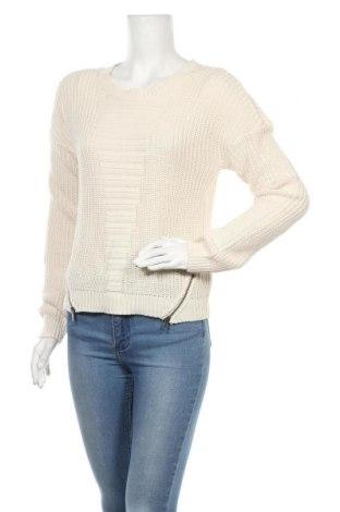 Γυναικείο πουλόβερ Vila, Μέγεθος XS, Χρώμα  Μπέζ, 50%ακρυλικό, 50% βαμβάκι, Τιμή 9,74€