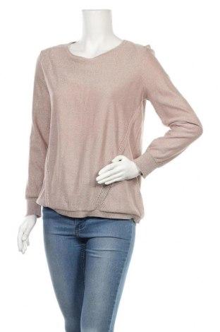 Γυναικείο πουλόβερ Woman By Tchibo, Μέγεθος L, Χρώμα Καφέ, 67% πολυεστέρας, 28% βισκόζη, 5% μεταλλικά νήματα, Τιμή 14,94€