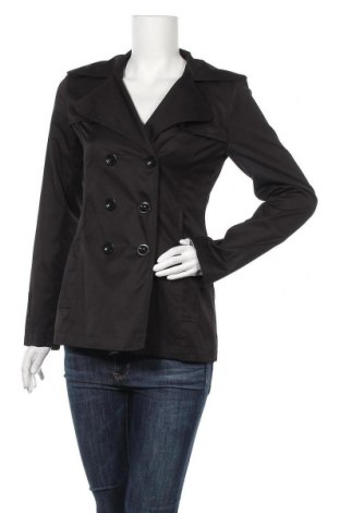 Дамски шлифер, Размер M, Цвят Черен, Цена 10,76лв.