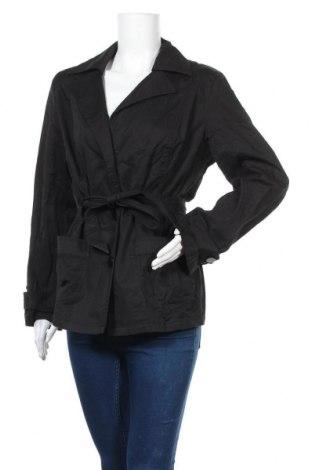 Дамски шлифер, Размер L, Цвят Черен, Цена 13,23лв.