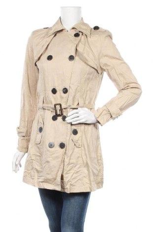 Дамски шлифер Bel&Bo, Размер M, Цвят Бежов, Памук, Цена 10,71лв.