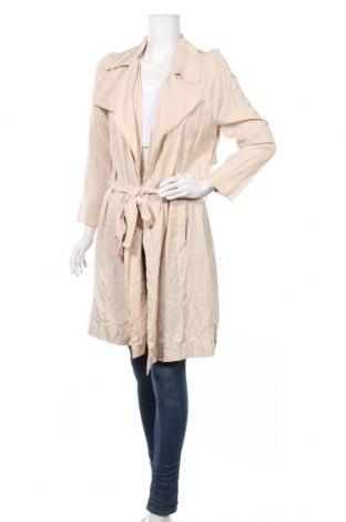 Дамски шлифер Diana Ferrari, Размер M, Цвят Бежов, 100% лиосел, Цена 16,28лв.