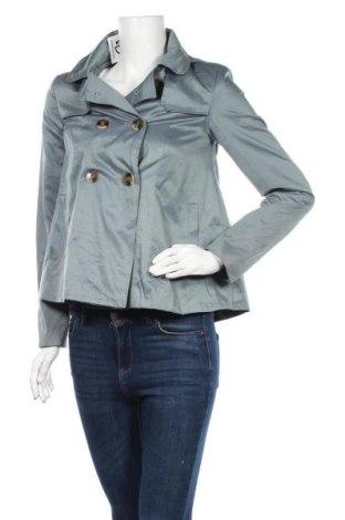Дамски шлифер Forever 21, Размер S, Цвят Зелен, 53% полиестер, 47% памук, Цена 9,98лв.