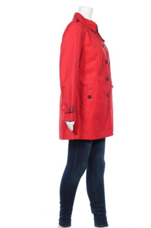 Дамски шлифер Fuchs & Schmitt, Размер M, Цвят Червен, 63% памук, 37% полиамид, Цена 43,35лв.