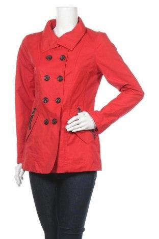 Dámský přechodný kabát  Fuchs & Schmitt, Velikost S, Barva Červená, 63% bavlna, 37% polyamide, Cena  1003,00Kč
