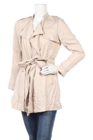 Дамски шлифер H&M, Размер S, Цвят Бежов, Лиосел, Цена 12,48лв.