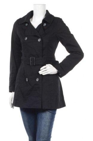 Дамски шлифер H&M, Размер S, Цвят Черен, 97% памук, 3% еластан, Цена 11,03лв.