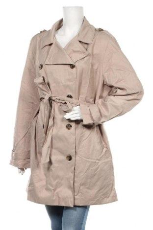 Дамски шлифер Janina, Размер XXL, Цвят Бежов, 59% памук, 41% полиестер, Цена 9,45лв.