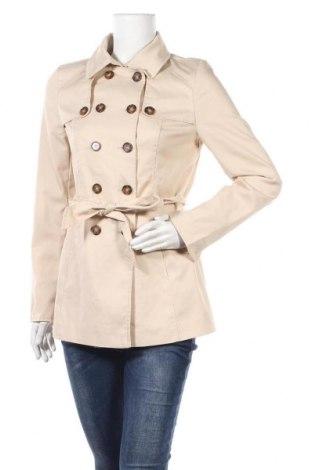 Дамски шлифер Orsay, Размер XS, Цвят Бежов, 65% полиестер, 35% памук, Цена 27,72лв.