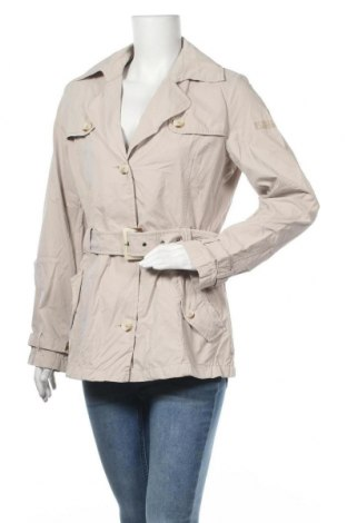 Дамски шлифер S.Oliver, Размер L, Цвят Бежов, 50% полиестер, 37% памук, 13% полиамид, Цена 9,98лв.