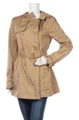 Дамски шлифер Sws, Размер L, Цвят Бежов, 65% полиестер, 35% памук, Цена 15,96лв.