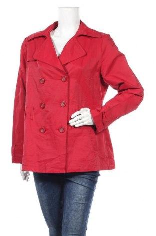 Дамски шлифер Target, Размер L, Цвят Червен, Памук, полиамид, Цена 11,03лв.