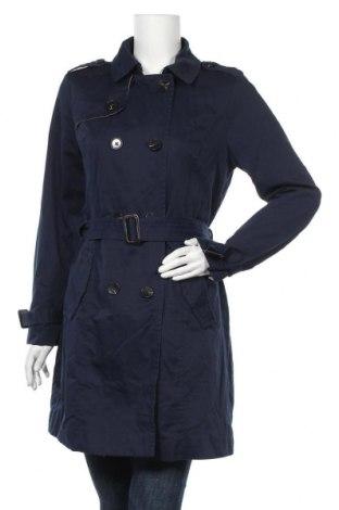 Дамски шлифер Vero Moda, Размер L, Цвят Син, 80% полиестер, 20% полиамид, Цена 46,20лв.