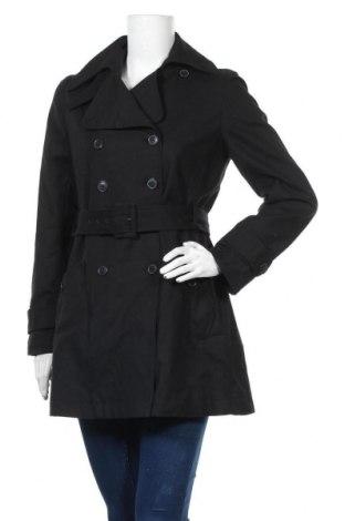 Дамски шлифер Willi Smith, Размер M, Цвят Черен, 95% памук, 5% еластан, Цена 37,80лв.