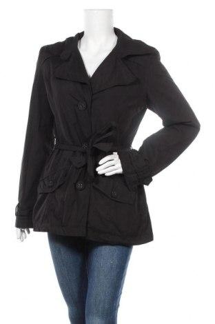 Дамски шлифер Zero, Размер M, Цвят Черен, 62% полиестер, 38% памук, Цена 13,23лв.