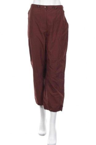 Γυναικείο αθλητικό παντελόνι Rodeo, Μέγεθος XL, Χρώμα Καφέ, Πολυεστέρας, Τιμή 3,33€