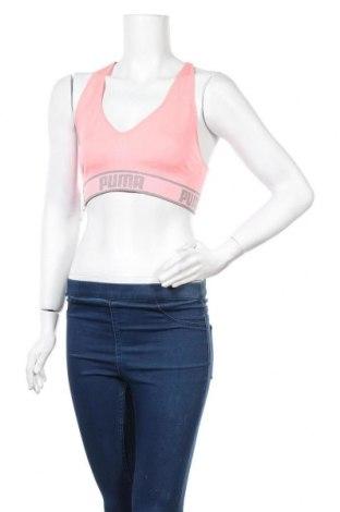Γυναίκειο αθλητικό τοπ PUMA, Μέγεθος M, Χρώμα Ρόζ , 90% πολυαμίδη, 8% ελαστάνη, 2% πολυεστέρας, Τιμή 16,56€