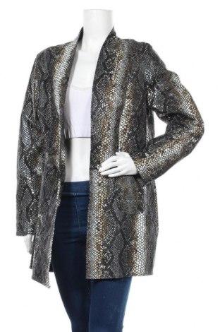 Дамско кожено сако Isaco & Kawa, Размер XL, Цвят Многоцветен, Естествена кожа, Цена 181,50лв.