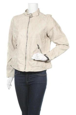 Γυναικείο δερμάτινο μπουφάν Blue Motion, Μέγεθος L, Χρώμα  Μπέζ, Δερματίνη, Τιμή 13,22€