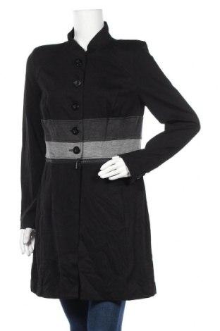 Дамско палто Cabi, Размер M, Цвят Черен, 75% вискоза, 22% полиамид, 3% еластан, Цена 48,72лв.