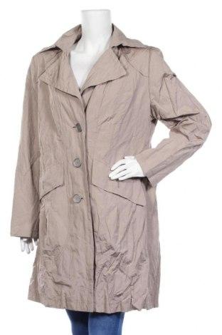 Дамско палто Gil Bret, Размер XL, Цвят Бежов, 51% полиестер, 43% памук, 6% метални нишки, Цена 14,18лв.