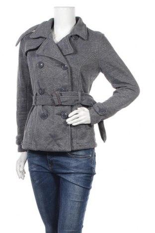 Дамско палто Iris, Размер S, Цвят Сив, Полиестер, Цена 12,52лв.