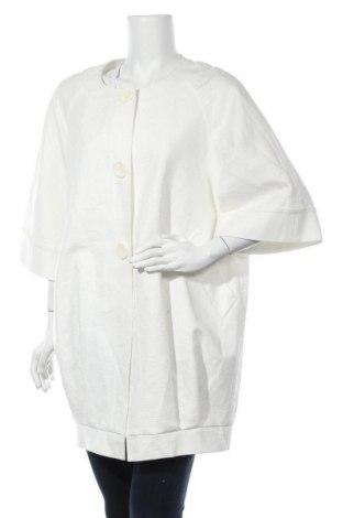 Дамско палто Lafayette 148, Размер S, Цвят Бял, 68% ацетат, 30% памук, 2% еластан, Цена 41,16лв.