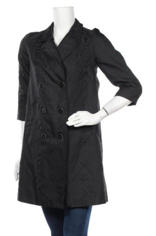 Дамско палто Sisley, Размер XS, Цвят Черен, Полиестер, Цена 9,71лв.