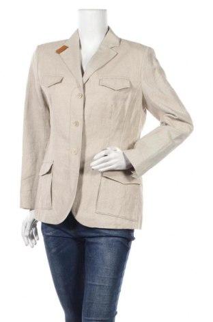 Дамско сако Bogner, Размер L, Цвят Бежов, 58% памук, 42% лен, Цена 99,96лв.