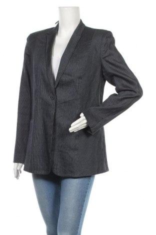 Дамско сако Elie Tahari, Размер XL, Цвят Син, 70% лен, 27% вискоза, 3% еластан, Цена 24,57лв.