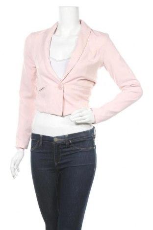 Γυναικείο σακάκι Fb Sister, Μέγεθος S, Χρώμα Ρόζ , 68% πολυεστέρας, 28% βισκόζη, 4% ελαστάνη, Τιμή 11,69€