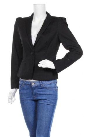 Дамско сако Forcast, Размер M, Цвят Черен, 70% памук, 28% полиамид, 2% еластан, Цена 10,08лв.