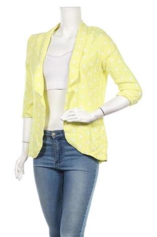 Дамско сако Glassons, Размер S, Цвят Жълт, Вискоза, Цена 14,18лв.