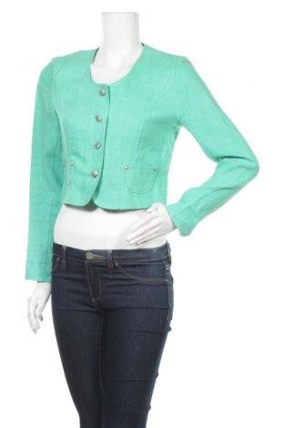Γυναικείο σακάκι Mac Scott, Μέγεθος M, Χρώμα Πράσινο, Λινό, Τιμή 11,79€